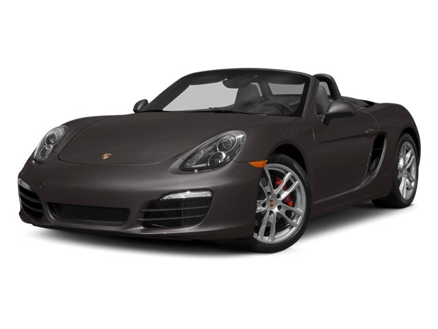 Anthracite Brown Metallic 2014 Porsche Boxster Pictures Boxster Roadster 2D S H6 photos front view