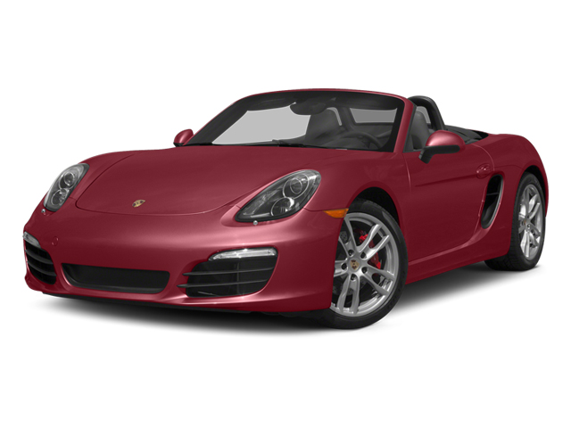 Amaranth Red Metallic 2014 Porsche Boxster Pictures Boxster Roadster 2D S H6 photos front view