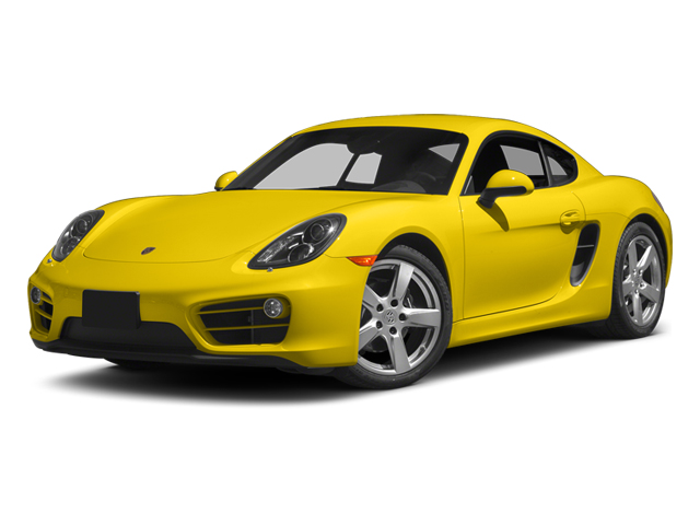 Racing Yellow 2014 Porsche Cayman Pictures Cayman Coupe 2D H6 photos front view
