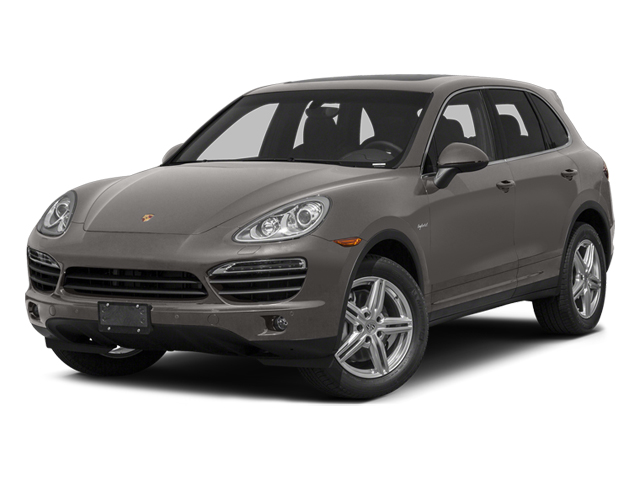 Meteor Gray Metallic 2014 Porsche Cayenne Pictures Cayenne Utility 4D S AWD Hybrid V6 photos front view