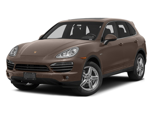 Umber Metallic 2014 Porsche Cayenne Pictures Cayenne Utility 4D S AWD Hybrid V6 photos front view