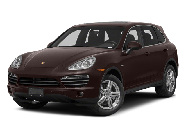 Mahogany Metallic 2014 Porsche Cayenne Pictures Cayenne Utility 4D S AWD Hybrid V6 photos front view