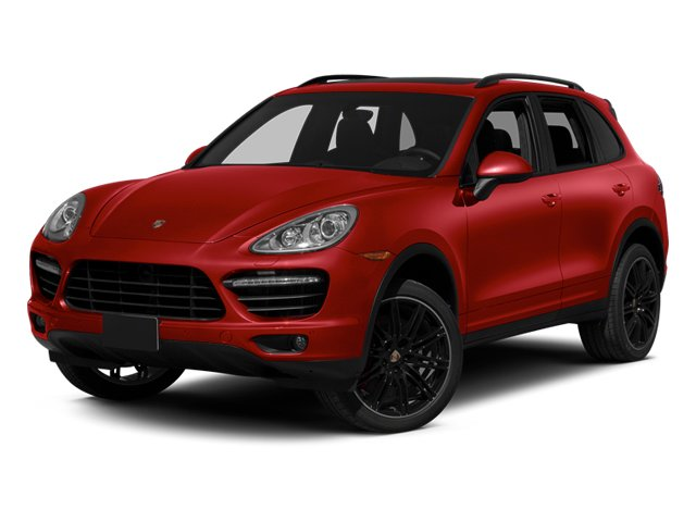 Carmine Red 2014 Porsche Cayenne Pictures Cayenne Utility 4D AWD V8 Turbo photos front view