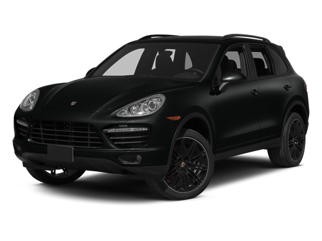 Jet Black Metallic 2014 Porsche Cayenne Pictures Cayenne Utility 4D AWD V8 Turbo photos front view