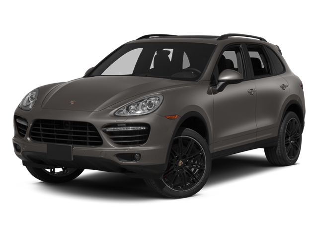 Meteor Gray Metallic 2014 Porsche Cayenne Pictures Cayenne Utility 4D AWD V8 Turbo photos front view