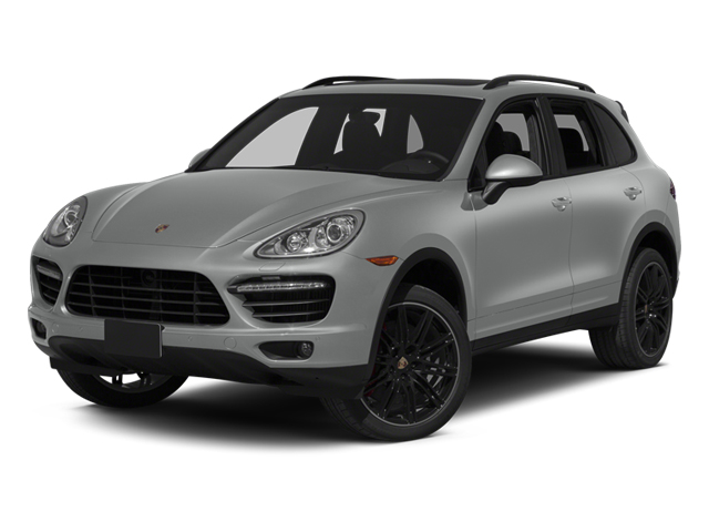Classic Silver Metallic 2014 Porsche Cayenne Pictures Cayenne Utility 4D AWD V8 Turbo photos front view