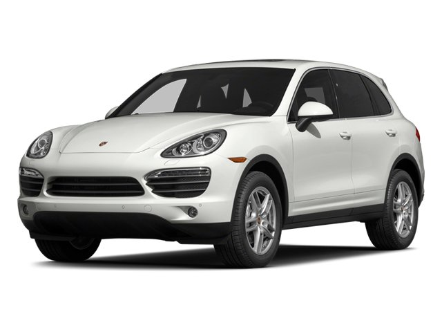 White 2014 Porsche Cayenne Pictures Cayenne Utility 4D AWD V6 photos front view