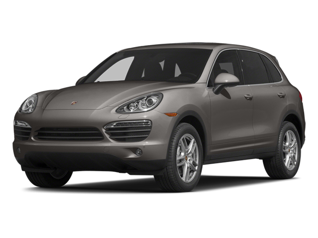 Meteor Gray Metallic 2014 Porsche Cayenne Pictures Cayenne Utility 4D AWD V6 photos front view