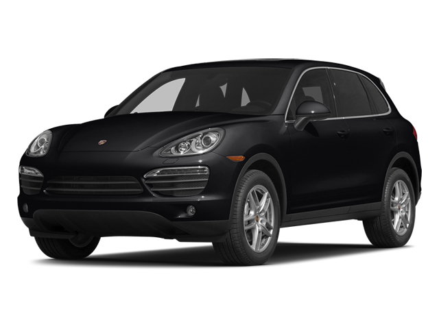 Black 2014 Porsche Cayenne Pictures Cayenne Utility 4D AWD V6 photos front view