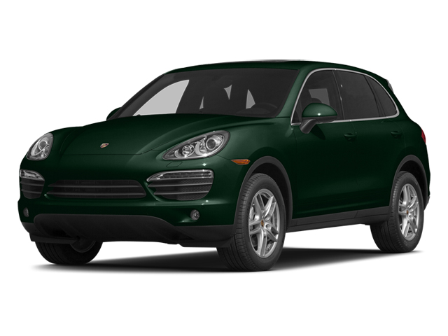 Jet Green Metallic 2014 Porsche Cayenne Pictures Cayenne Utility 4D AWD V6 photos front view