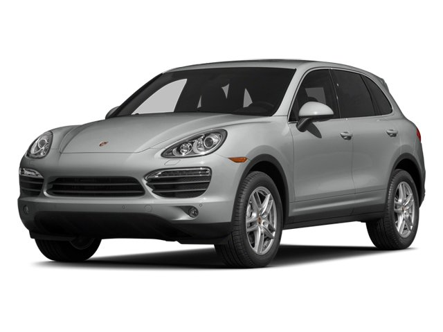 Classic Silver Metallic 2014 Porsche Cayenne Pictures Cayenne Utility 4D AWD V6 photos front view