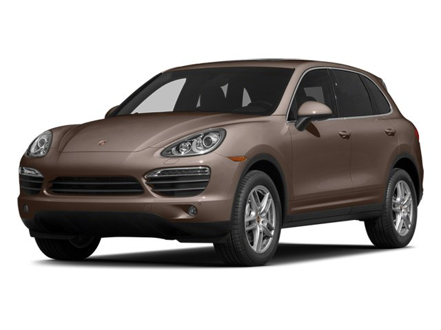 Umber Metallic 2014 Porsche Cayenne Pictures Cayenne Utility 4D AWD V6 photos front view
