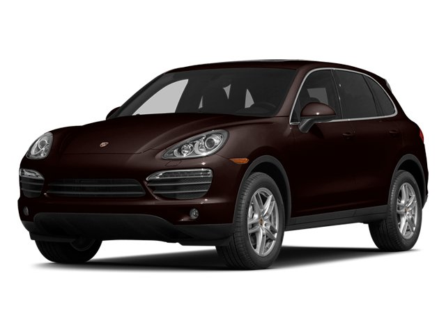 Mahogany Metallic 2014 Porsche Cayenne Pictures Cayenne Utility 4D AWD V6 photos front view