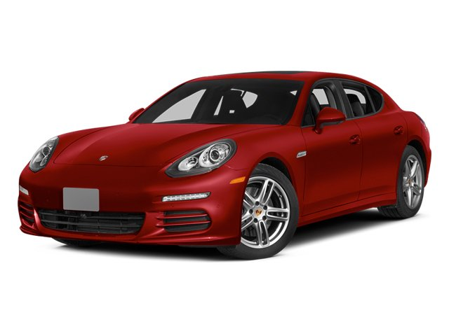 Carmine Red 2014 Porsche Panamera Pictures Panamera Hatchback 4D S AWD V8 Turbo photos front view