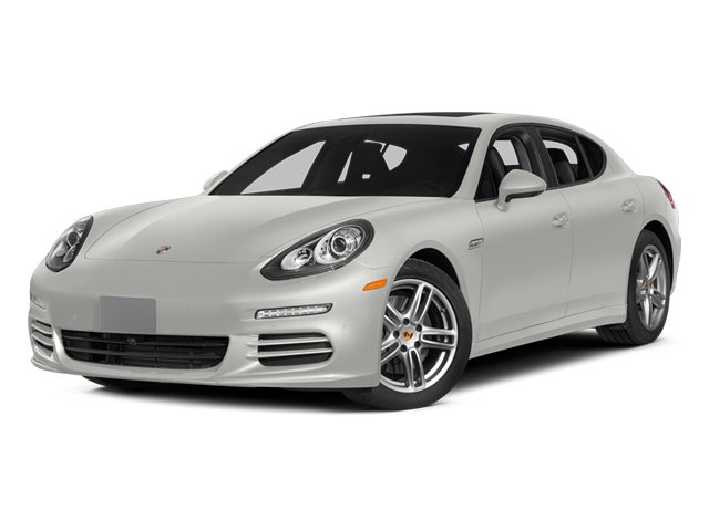 White 2014 Porsche Panamera Pictures Panamera Hatchback 4D 4S V6 Turbo photos front view