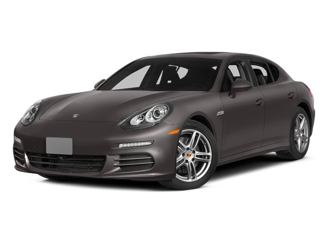 Agate Gray Metallic 2014 Porsche Panamera Pictures Panamera Hatchback 4D S AWD V8 Turbo photos front view