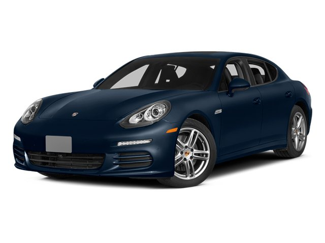 Dark Blue Metallic 2014 Porsche Panamera Pictures Panamera Hatchback 4D S V6 Turbo photos front view