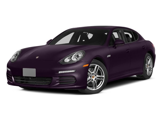 Amethyst Metallic 2014 Porsche Panamera Pictures Panamera Hatchback 4D S V6 Turbo photos front view