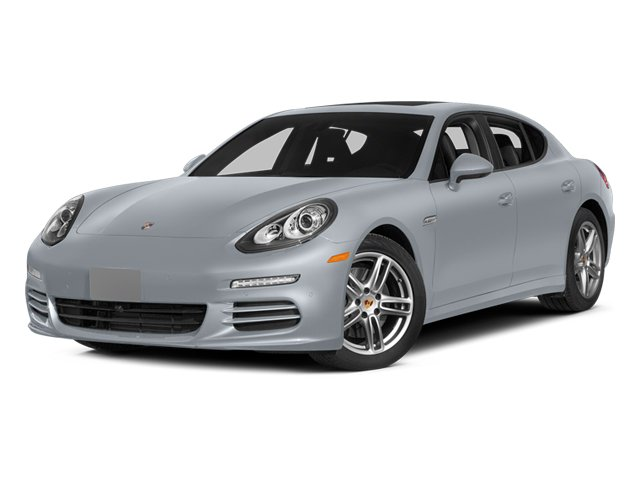 Rhodium Silver Metallic 2014 Porsche Panamera Pictures Panamera Hatchback 4D S V6 Turbo photos front view