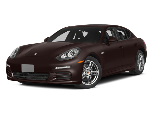 Mahogany Metallic 2014 Porsche Panamera Pictures Panamera Hatchback 4D S V6 Turbo photos front view