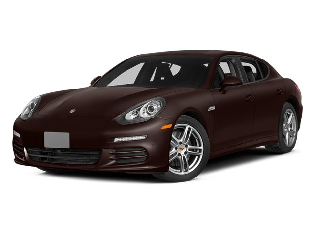 Mahogany Metallic 2014 Porsche Panamera Pictures Panamera Hatchback 4D 4S V6 Turbo photos front view