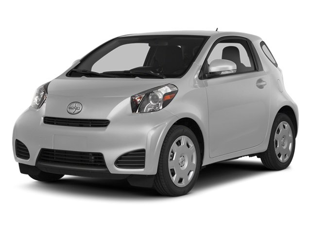 Classic Silver Metallic 2014 Scion iQ Pictures iQ Hatchback 3D I4 photos front view