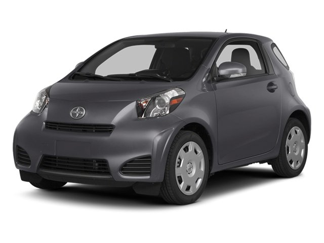 Magnetic Gray Metallic 2014 Scion iQ Pictures iQ Hatchback 3D I4 photos front view