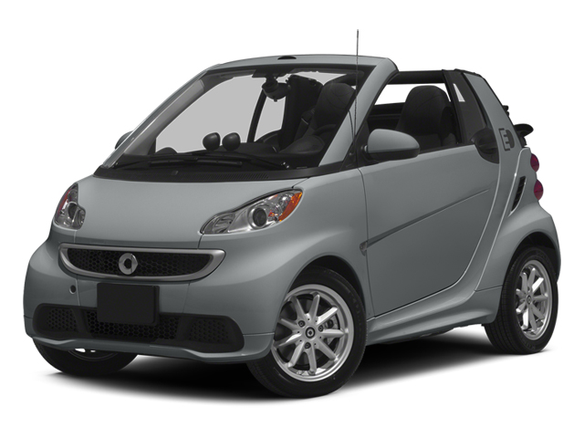 Silver Metallic 2014 smart fortwo electric drive Pictures fortwo electric drive Convertible 2D Electric photos front view