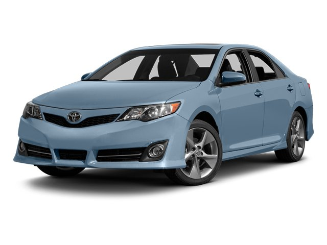 Clearwater Blue Metallic 2014 Toyota Camry Pictures Camry Sedan 4D LE I4 photos front view
