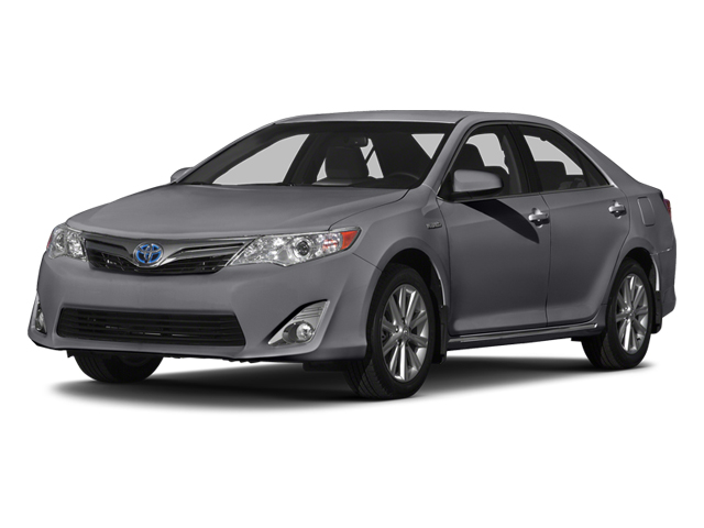 Magnetic Gray Metallic 2014 Toyota Camry Hybrid Pictures Camry Hybrid Sedan 4D LE I4 Hybrid photos front view