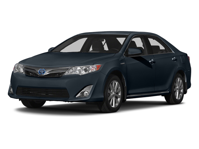 Cosmic Gray Mica 2014 Toyota Camry Hybrid Pictures Camry Hybrid Sedan 4D LE I4 Hybrid photos front view