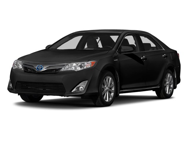 Attitude Black 2014 Toyota Camry Hybrid Pictures Camry Hybrid Sedan 4D LE I4 Hybrid photos front view