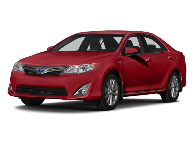 Barcelona Red Metallic 2014 Toyota Camry Hybrid Pictures Camry Hybrid Sedan 4D LE I4 Hybrid photos front view