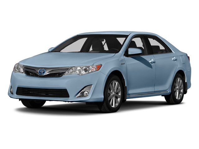 Clearwater Blue Metallic 2014 Toyota Camry Hybrid Pictures Camry Hybrid Sedan 4D LE I4 Hybrid photos front view