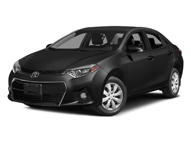 Black Sand Mica 2014 Toyota Corolla Pictures Corolla Sedan 4D S I4 photos front view
