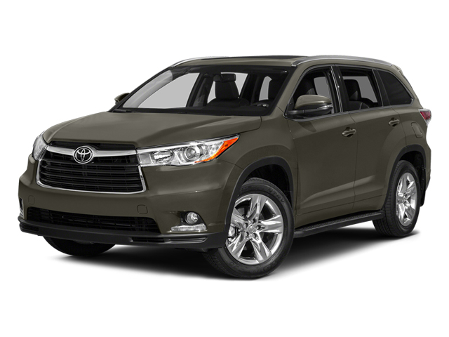 Predawn Gray Mica 2014 Toyota Highlander Pictures Highlander Utility 4D Limited 4WD V6 photos front view