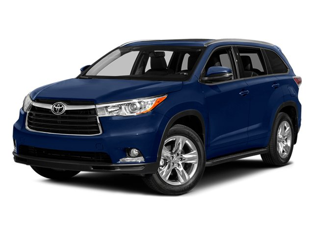 Nautical Blue Metallic 2014 Toyota Highlander Pictures Highlander Utility 4D Limited 4WD V6 photos front view