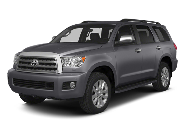 Magnetic Gray Metallic 2014 Toyota Sequoia Pictures Sequoia Utility 4D Platinum 4WD V8 photos front view