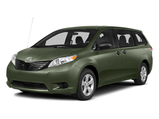 Cypress Pearl 2014 Toyota Sienna Pictures Sienna Wagon 5D LE AWD V6 photos front view