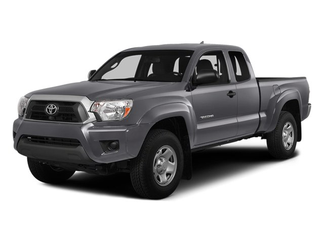 Magnetic Gray Metallic 2014 Toyota Tacoma Pictures Tacoma Base Access Cab 2WD I4 photos front view