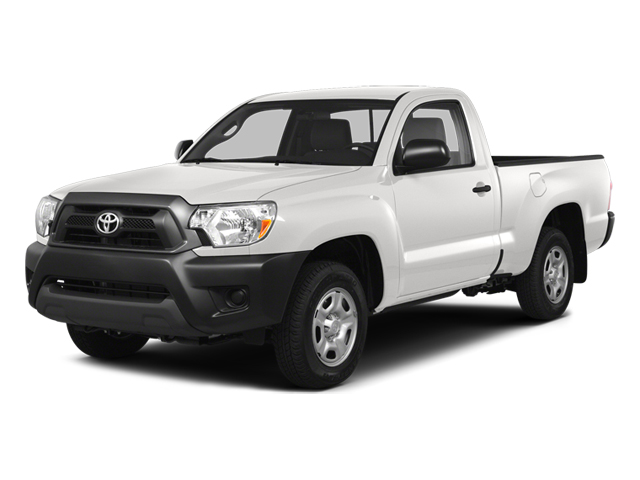 Super White 2014 Toyota Tacoma Pictures Tacoma Base 4WD I4 photos front view