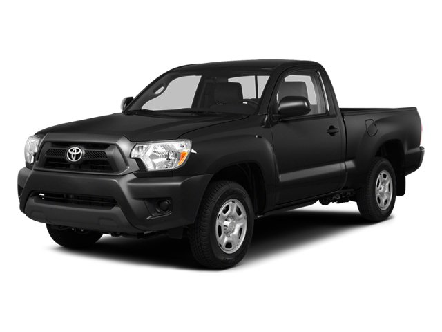 Black 2014 Toyota Tacoma Pictures Tacoma Base 4WD I4 photos front view