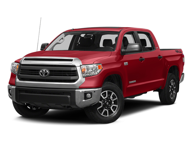 Barcelona Red Metallic 2014 Toyota Tundra 4WD Truck Pictures Tundra 4WD Truck SR5 4WD 5.7L V8 photos front view