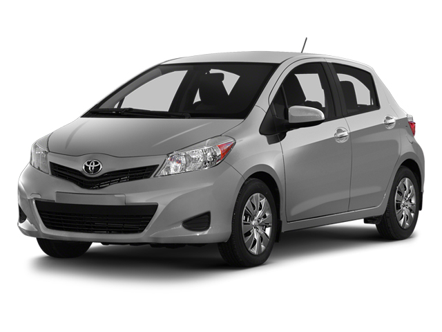 Classic Silver Metallic 2014 Toyota Yaris Pictures Yaris Hatchback 5D SE I4 photos front view