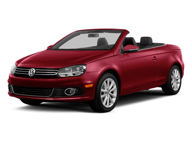 Salsa Red 2014 Volkswagen Eos Pictures Eos Convertible 2D Executive I4 Turbo photos front view
