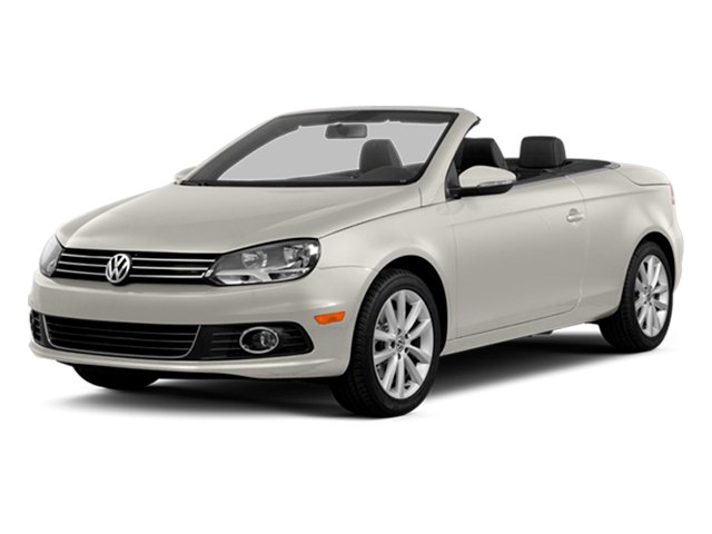 Candy White 2014 Volkswagen Eos Pictures Eos Convertible 2D Executive I4 Turbo photos front view