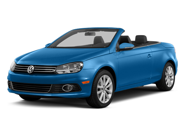 Horizon Blue Metallic 2014 Volkswagen Eos Pictures Eos Convertible 2D Executive I4 Turbo photos front view