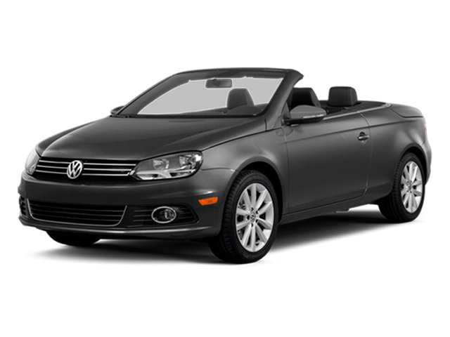 Indium Gray Metallic 2014 Volkswagen Eos Pictures Eos Convertible 2D Executive I4 Turbo photos front view