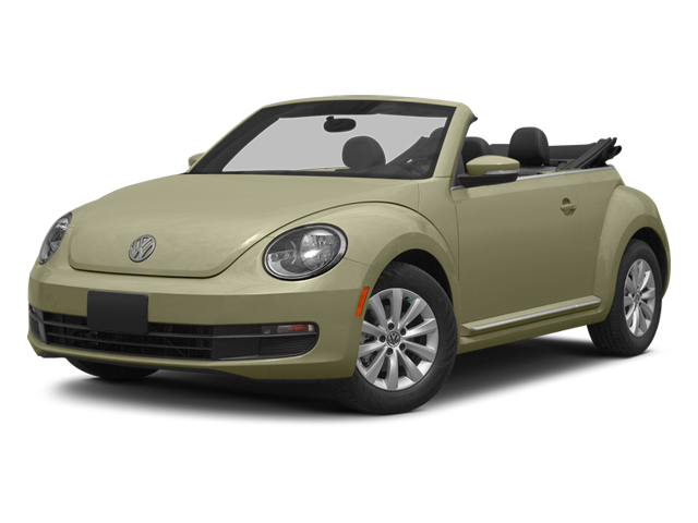 Moonrock Silver Metallic/Black Roof 2014 Volkswagen Beetle Convertible Pictures Beetle Convertible Convertible 2D TDI I4 photos front view