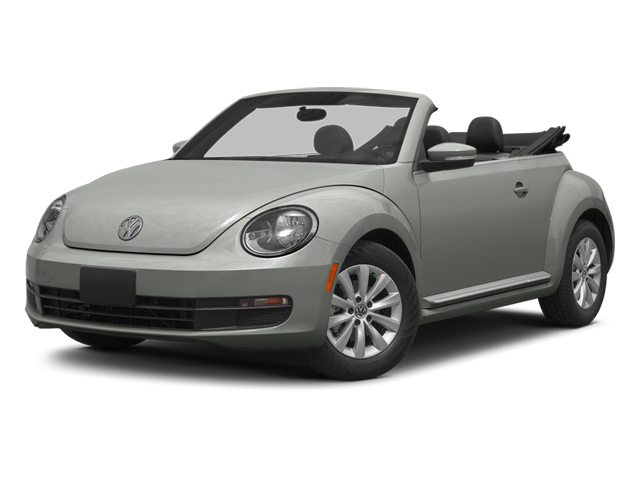 Reflex Silver Metallic/Black Roof 2014 Volkswagen Beetle Convertible Pictures Beetle Convertible Convertible 2D TDI I4 photos front view